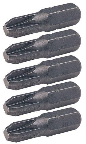 KS Tools 911.2223 Embouts de vissage Pozidriv N/°2 Longueur 25 mm Boite de 5 pi/èces