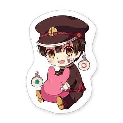 SosoJustgo2 Anime Toilet Bound Hanako kun Hanako Nene Yashiro Stuffed Dolls Throw Pillow Cosplay Plush Toy Soft Cute Cushion Lumbar Doll Toy Fans Gift(Style 1): Kitchen & Dining