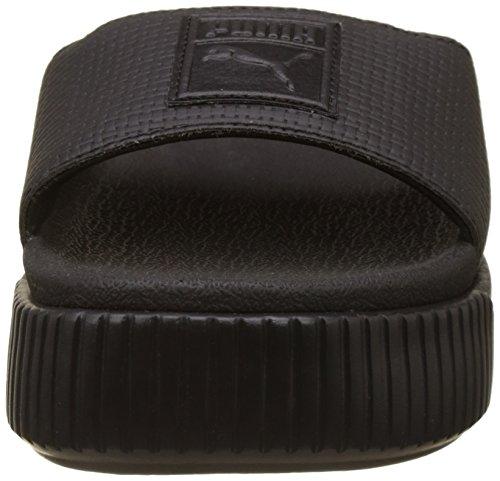 Noir Slide Schwarz amp; Plage schwarz Piscine Puma De Ep Femme Platform Chaussures PwY5zq
