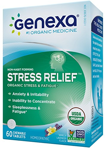 Genexa Homeopathic Stress Anxiety Relief