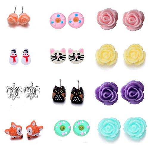 Onnea Multi Earrings Flower Bowkont product image