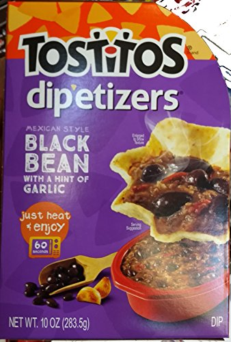 Tostitos Mexican Style Black Bean with A Hint of Garlic Dipetizers 10oz, pack of 1