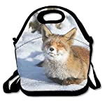 Animals Fox Canines Lunch Bag Lunch Tote Lunch Pouch Handbag Made For Women, Men And Kids