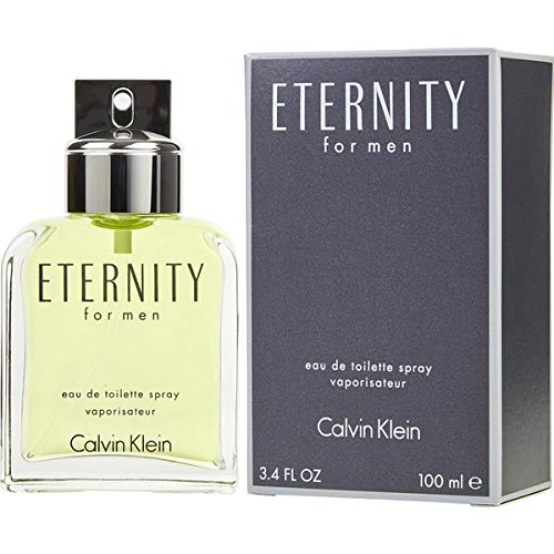 CK ETERNITY MEN by CK Eau De Toilette Spray 3.4 OZ (100 ML)