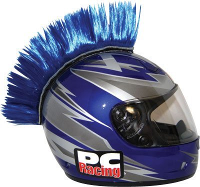 Pc Racing Helmet Mohawks Yellow Velcro by PCRACING