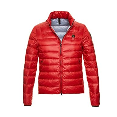 004288 Jackets Short Feather Padded Red Men Blauer 18sbluc03191 Down qTRUxyww7f