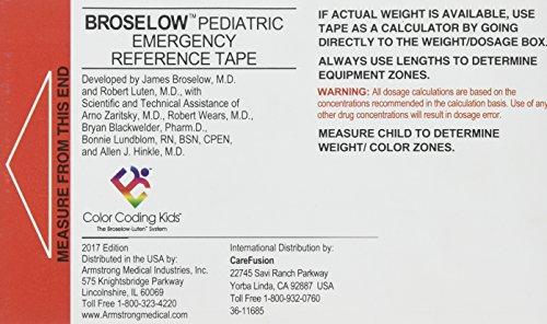 Broselow Pediatric Emergency Tape 2017