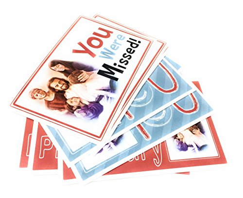 You Were Missed Primary Postcard 10 pack