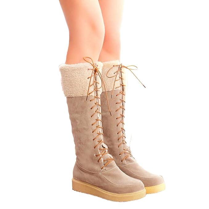 Geili Damen Winterstiefel Schneestiefel Snow Boots