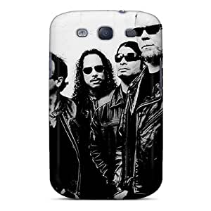 Premium OVi2582bOdT Case With Scratch-resistant/ Metallica Case Cover For Galaxy S3
