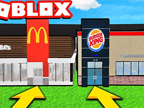Clip: Roblox Bloxburg Best Friend Restaurant Build Off