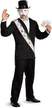 Monopoly Deluxe Adult Costume - X-Large (42-46) [Apparel] (disfraz): Amazon.es: Juguetes y juegos