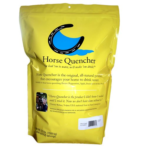 Horse Quenchers Apple Dehydration Prevention, 3.5-Pound Bag (The Best Thirst Quencher)