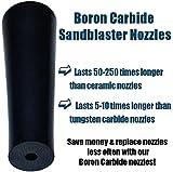Boron Carbide Sandblaster Nozzle