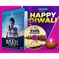 Raazi + Ok Jaanu - 2 Hindi Movies (2 Blu-ray bundle offer)