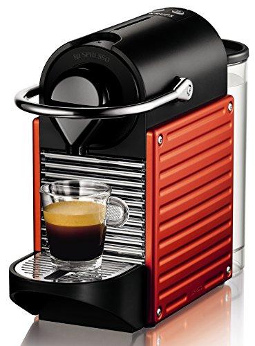 Nespresso Pixie Red XN3006 Krups - Cafetera monodosis (19 bares,...