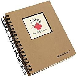 Quilting, The Quilter's Journal (Natural Brown)