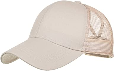 Katsaz Gorra de béisbol de Malla de algodón para Hombre y Mujer ...