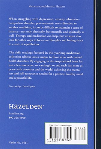 A Restful Mind: Daily Meditations for Enhancing Mental Health (Hazelden Meditations)
