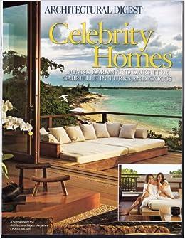 architectural digest celebrity homes donna karan and daughter