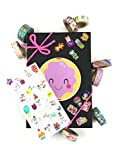 Pipsticks Kawaii Heaven Collectors Gift Box - Great Washi Tape Stickers for Planners, Calendars, Scrapbooks, Crafts, Diaries & School Projects