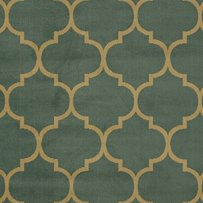 Sweet Home Stores Clifton Collection Moroccan Trellis Design Area Rug, 7'10'' X 9'10'', Seafoam by Sweet Home Stores (Image #2)