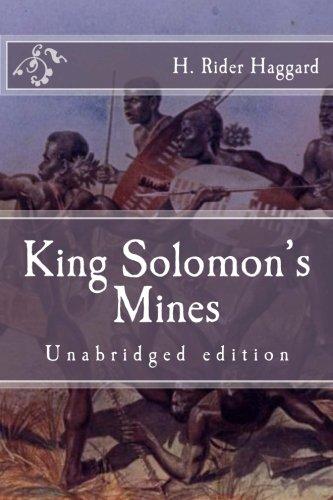 Download King Solomon's Mines: Unabridged edition (Immortal Classics) ebook