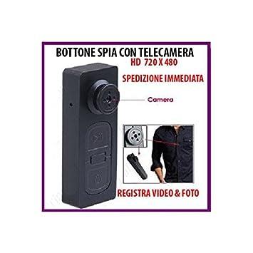 Botón con Spy Cam 808 Espía Cimice Video Fotos Spy: Amazon.es: Bricolaje y herramientas