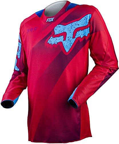Fox-Racing-360-Flight-Mens-MotoX-Motorcycle-Jerseys-Red