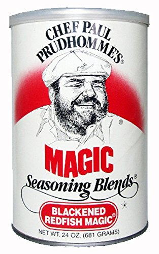 Chef Paul Blackened Redfish Magic Seasoning, 24-Ounce Canisters (Pack of 2)