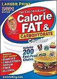 CalorieKing 2021 Larger Print Calorie, Fat