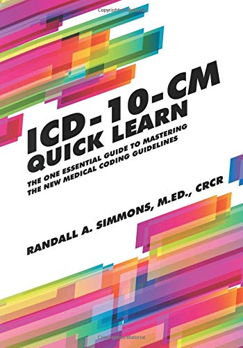 ICD-10-CM Quick Learn (Quick Learn Guides) ebook