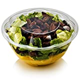 Plastic Salad Bowl by Green Direct - 32 oz Large