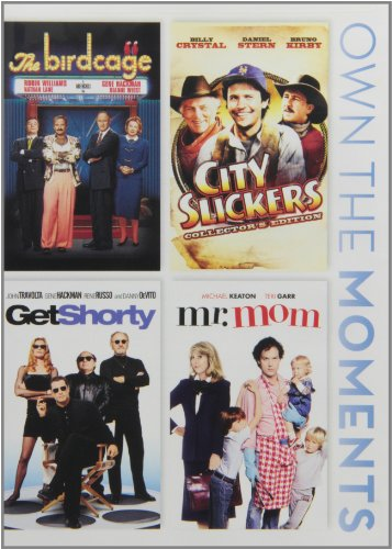 The Birdcage/ City Slickers/ Get Shorty/ Mr. Mom (Widescreen, Pan & Scan)