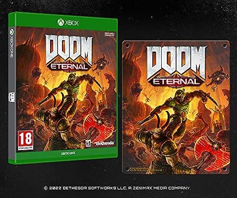 DOOM Eternal with Steel Poster (Exclusive to Amazon.co.uk) - Xbox ...