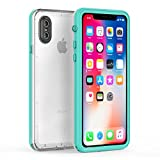 iPhone X Waterproof Case, Fansteck Ultra Slim IP68 Waterproof Case for iPhone X, Fully Sealed Underwater with Built-in Screen Protector, High Sensitive Anti-Scratch Touch Screen (5.8inch)(Mint Green)