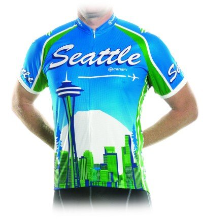 Seattle City Bicycle Jersey Medium