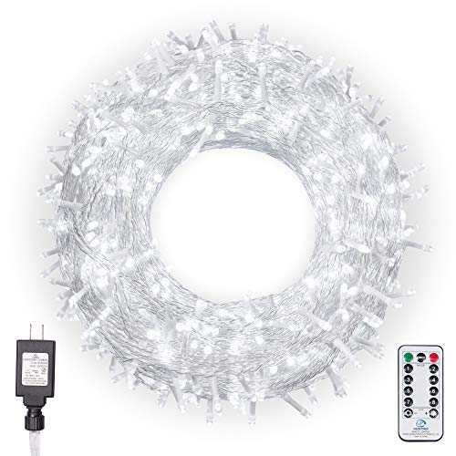 Ollny Christmas Lights 800 LEDs 330ft LED Outdoor...