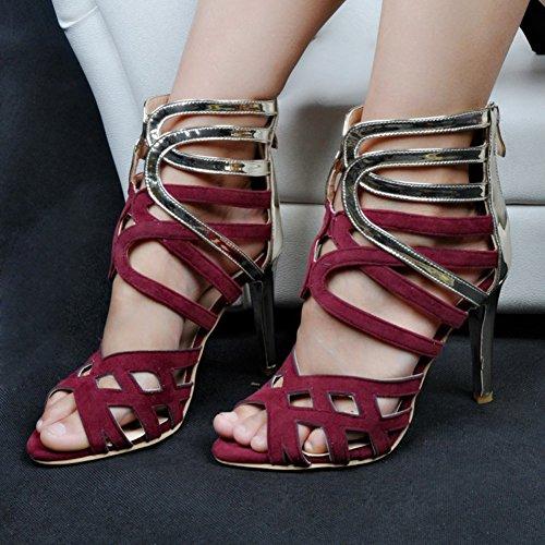 À Hauts Chaussures Purple Handmade Femmes 11cm Talons De Kolnoo wXZtc