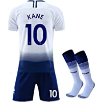 New 2018-2019 Kane 10 Tottenham Hotspur Home Kids Youth Soccer Jersey & Shorts &