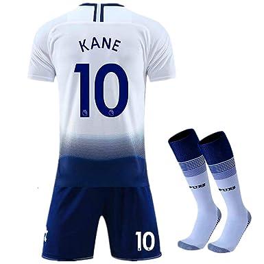 8fafc721c New 2018-2019 Kane 10 Tottenham Hotspur Home Kids Youth Soccer Jersey &  Shorts &