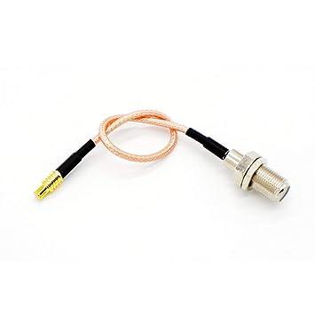 RG316 Coaxial Cable Coaxial, Tengko 15cm Adaptador de Antena WiFi MCX Macho Interruptor Directo a