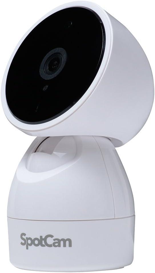 SpotCam ネットワークカメラ パンチルト クラウド録画・暗視機能・双方向通話対応 SpotCam-HD-Eva