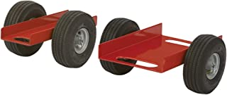 "product image for Heavy Duty Caddy 6-1/8"" x 20"" Channel, Pneumatic Wheels"
