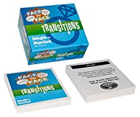 Face to Face Transitions Single to Married Card Game