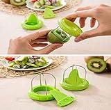 Morecome Useful Multifunction Kiwi Fruit Cutter Slicer Gadgets