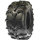 Sun.F A050 ATV Mud Tires 28x12-12, 6 Ply Deep Tread