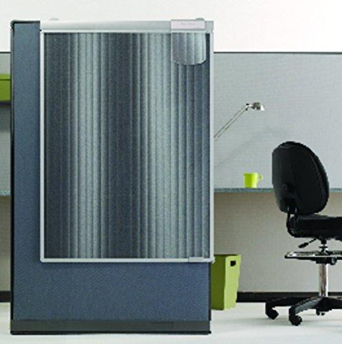 Quartet Workstation Privacy Screen, 36 x 48 Inches, Sliding, Partial Length (WPS1000)