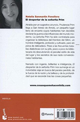 El despertar de la señorita Prim (Novela y Relatos): Amazon.es: Natalia Sanmartin Fenollera: Libros