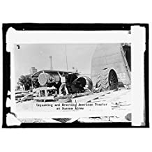 16 x 20 Gallery Wrapped Frame Art Canvas Print of Buenos Aires, Argentina 1915 National Photo Co 88a